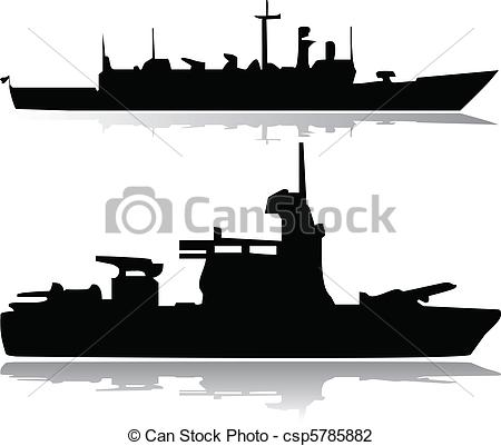 Battleship clipart military ship Vector Search  Illustration of