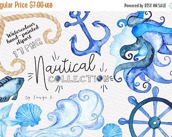 Navy clipart seahorse Blue Clipart Navy Use MERMAID