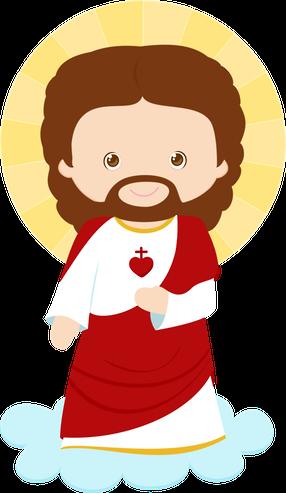 Com painel divertido Jesus Minus
