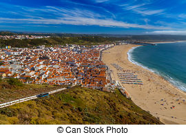Nazare clipart skyline Portugal Images View Portugal in