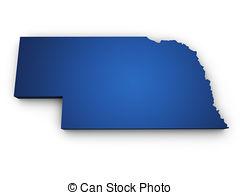 Nebraska clipart Illustrations  Of 381 Shape