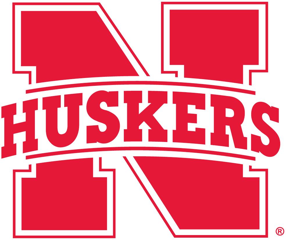 (2012) Nebraska Stencils Logo Secondary