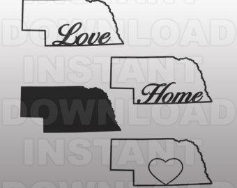 Nebraska clipart Nebraska Outline #15