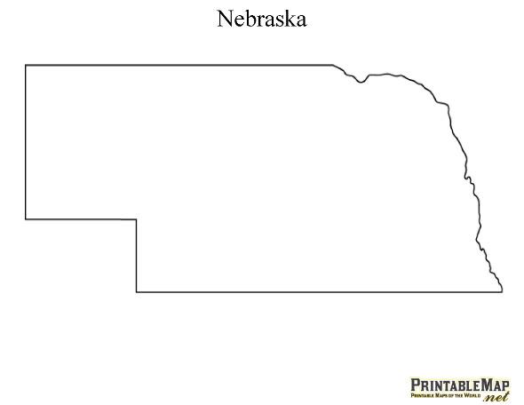 Nebraska clipart Nebraska Outline #1