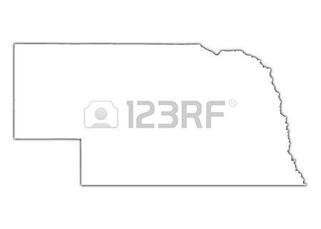 Nebraska clipart Nebraska Outline #4