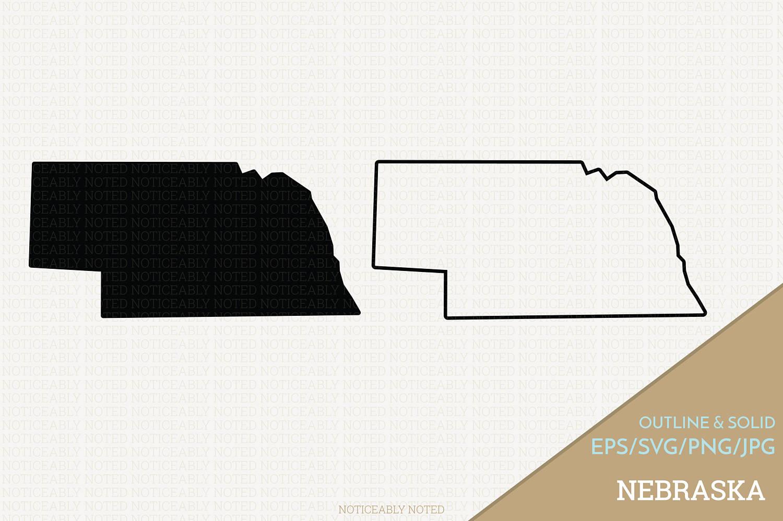 Nebraska clipart Nebraska Outline #11