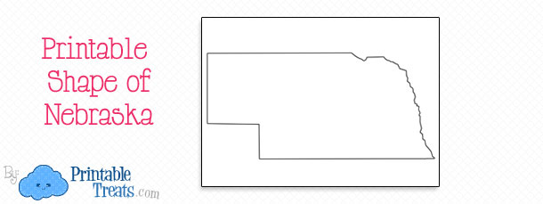 Nebraska clipart Nebraska Outline #6