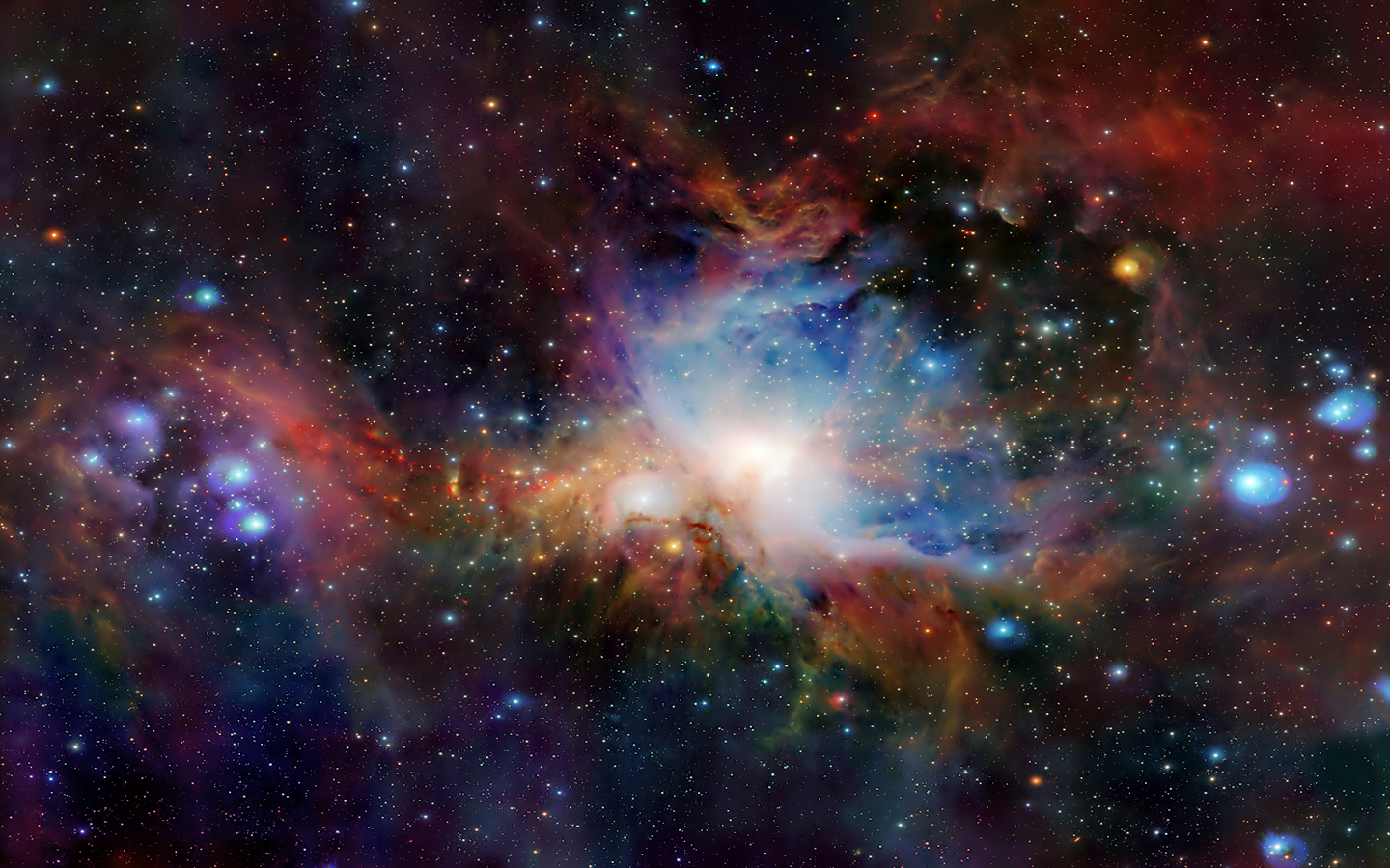 Nebuli clipart computer wallpaper Messier M42 Orion (also or