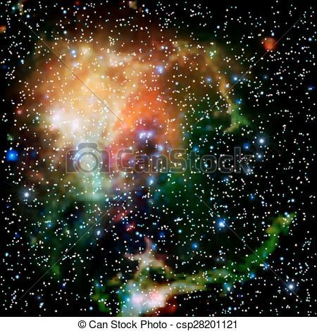 Nebuli clipart the universe Illustration nebula Colorful Universe stars