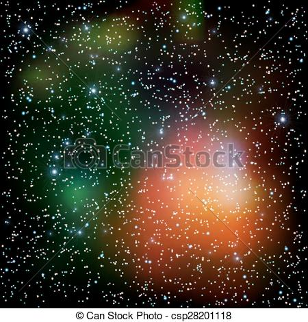 Nebuli clipart the universe Clip stars Colorful Colorful with
