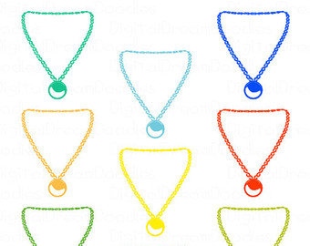 Necklace clipart #10