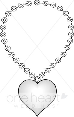 Necklace clipart #13