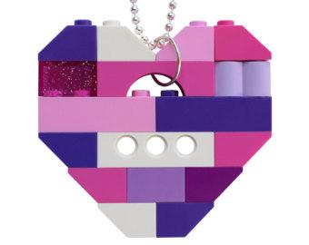 Necklace clipart gangsta LEGO pendant Pink ballchain (R)
