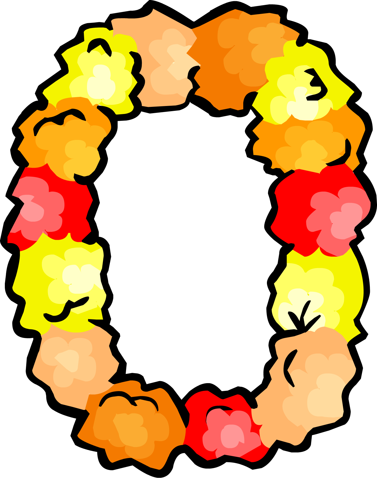 Necklace clipart hawaii #9