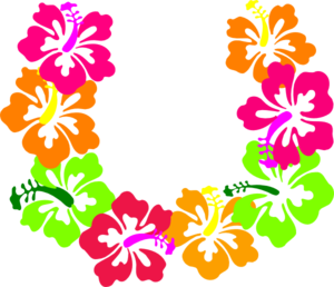 Necklace clipart lei #3