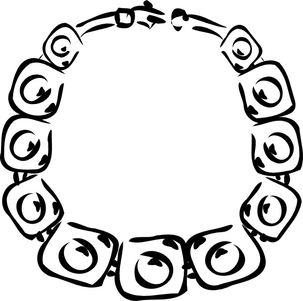 Necklace clipart neckless #2