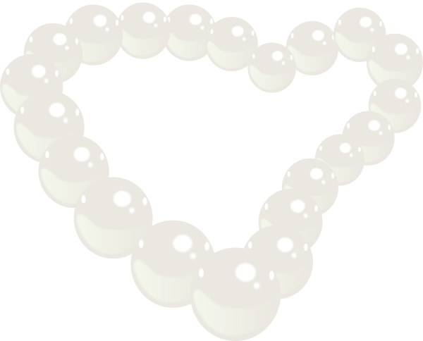 Necklace clipart pearl strand #9