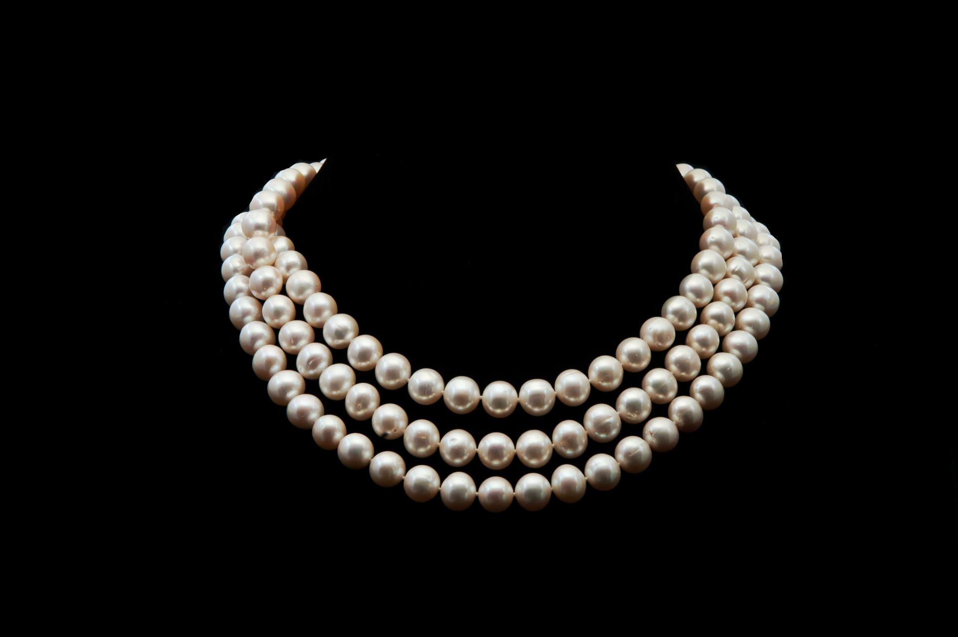 Necklace clipart pearl strand #10