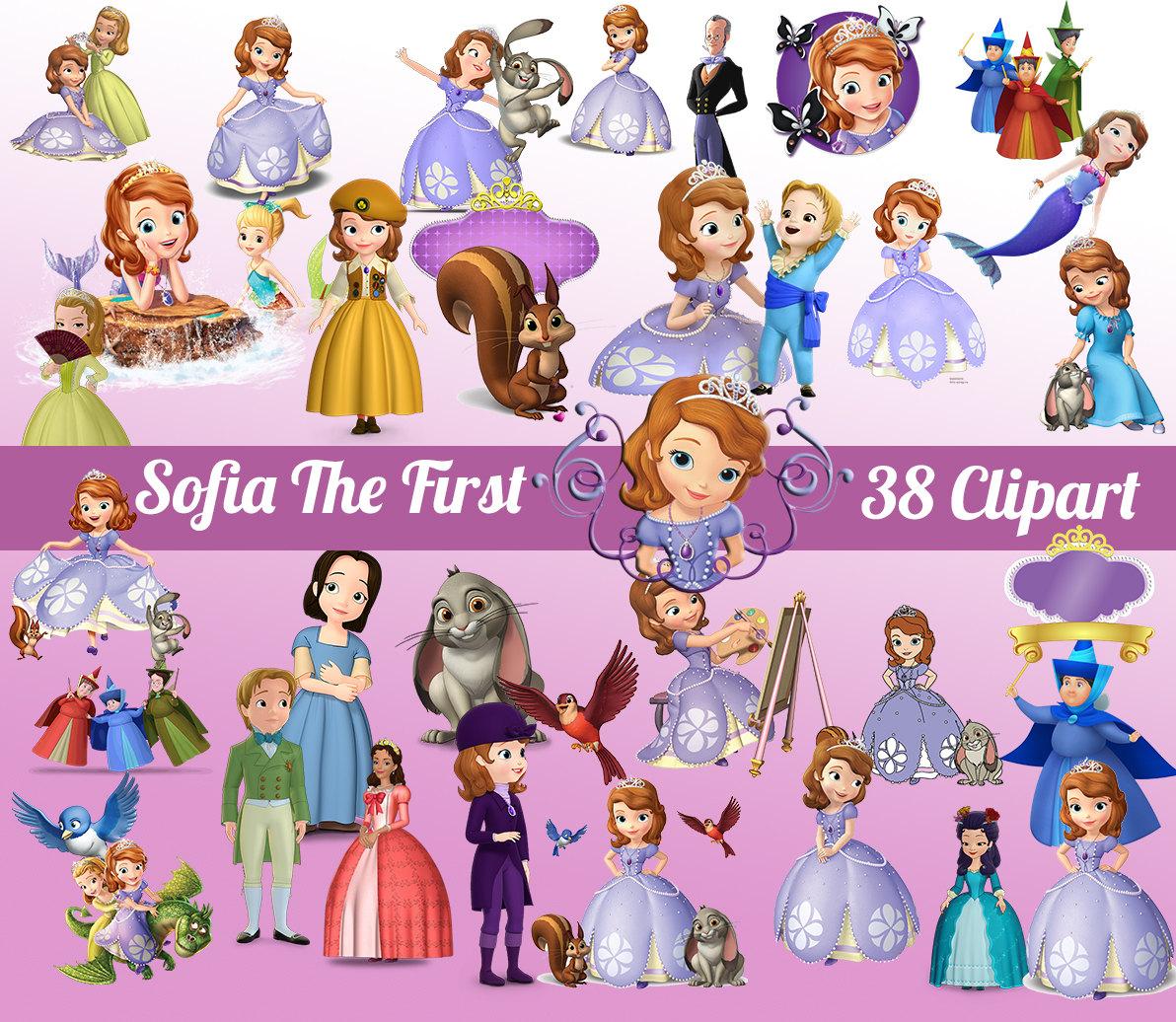 Necklace clipart princess sofia Sofia Sofia first 38 image