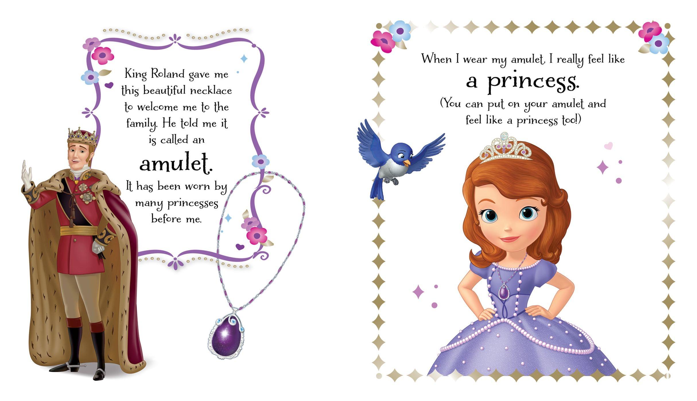 Necklace clipart princess sofia Princess Disney a  Disney