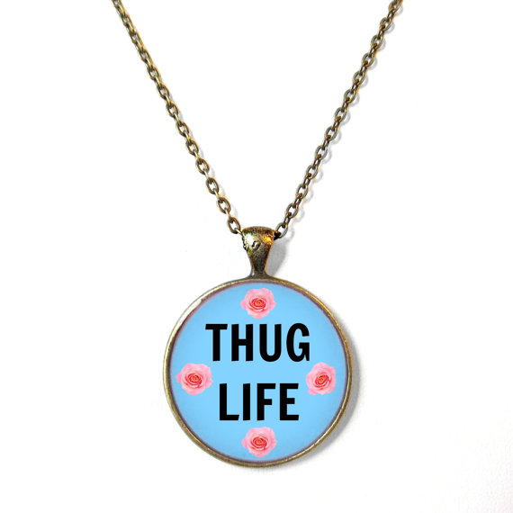 Necklace clipart thug #9