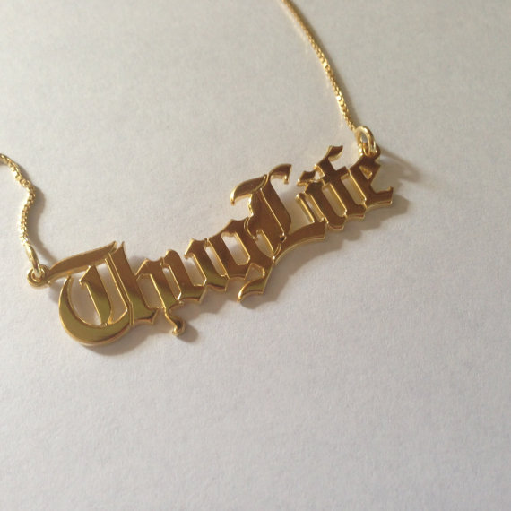 Necklace clipart thug life #2