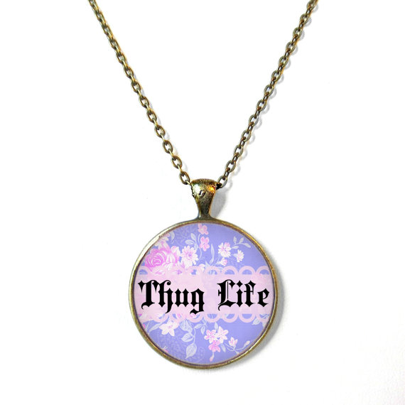 Necklace clipart thug life #1