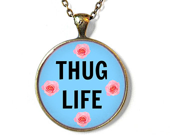 Necklace clipart thug life #10