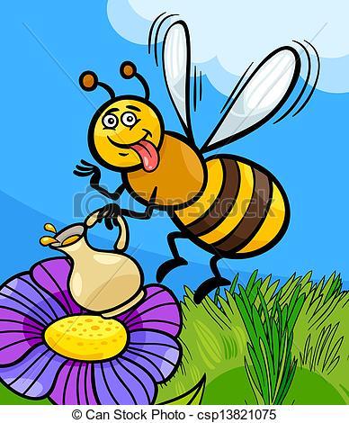 Nectar clipart Honey Vectors cartoon illustration illustration