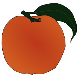 Nectarine clipart Clip Peach Download Art Nectarine