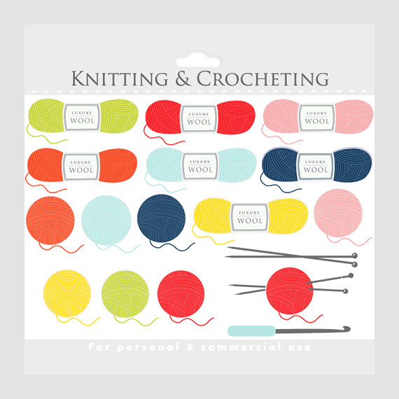 Needless clipart Crochet Knitting ball Pinterest art