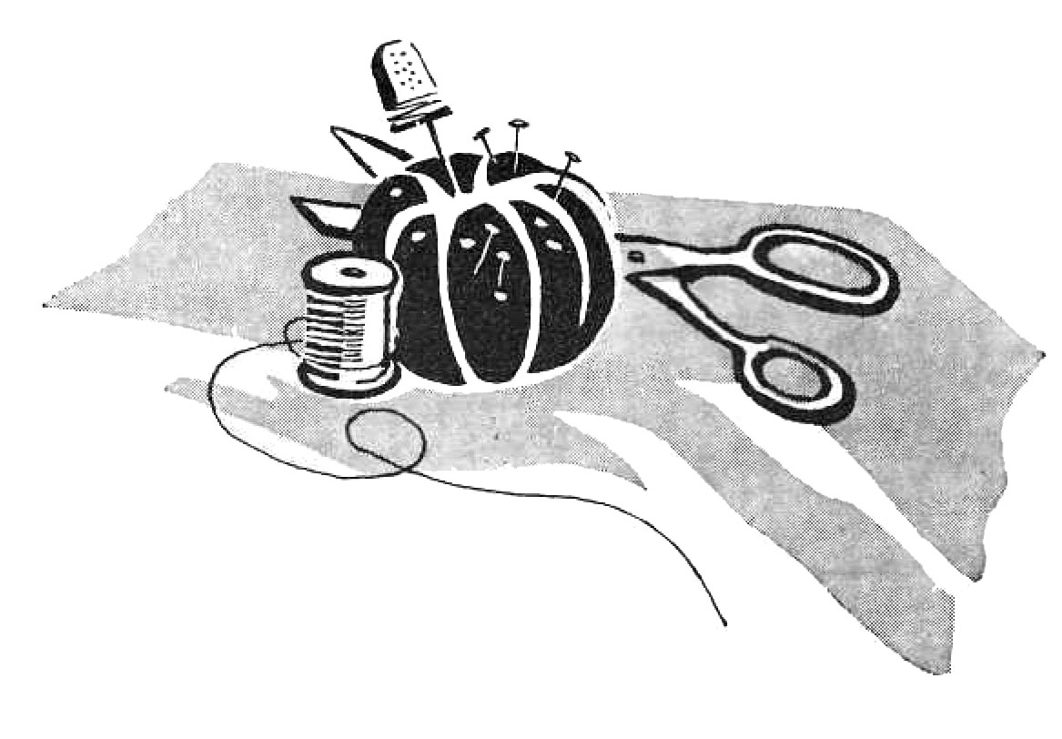 Needless clipart black and white Create Eat knitting « As