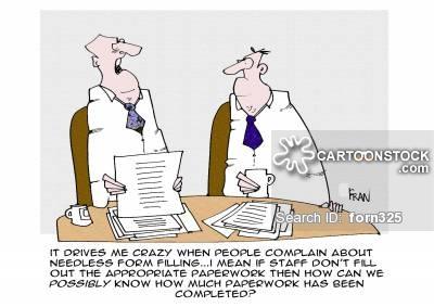 Needless clipart cartoon Cartoon Paperwork Needless from