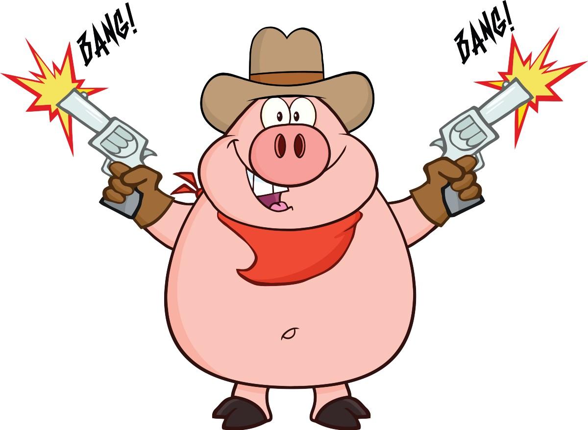 Needless clipart cartoon Family Needless and Gun