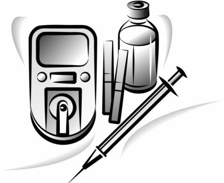 Needless clipart diabetes insulin Dependent insulin not Although diabetes