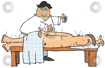 Needless clipart doctor needle Acupuncture Doctor Acupuncture Doctor stock