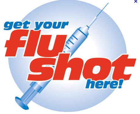 Needless clipart flu shot Shot shot Greg five a