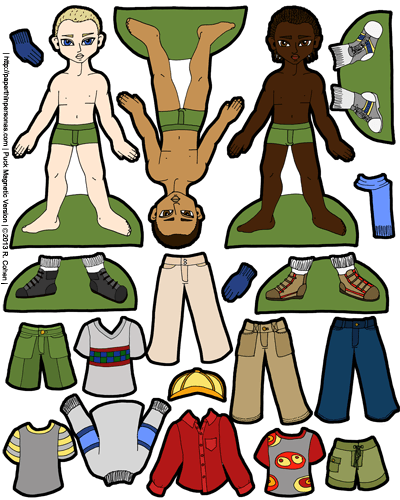 Needless clipart magnet Paper Doll Paper Paper Number