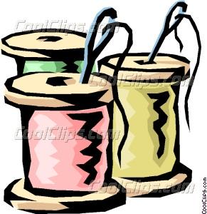 Needless clipart needle and thread Thread art Needles Needles &
