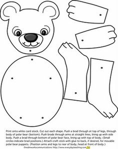 Needless clipart outline Bear Cut Coloring Teddy News