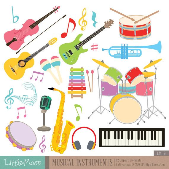 Needless clipart string Cookies Digital about Musical 173