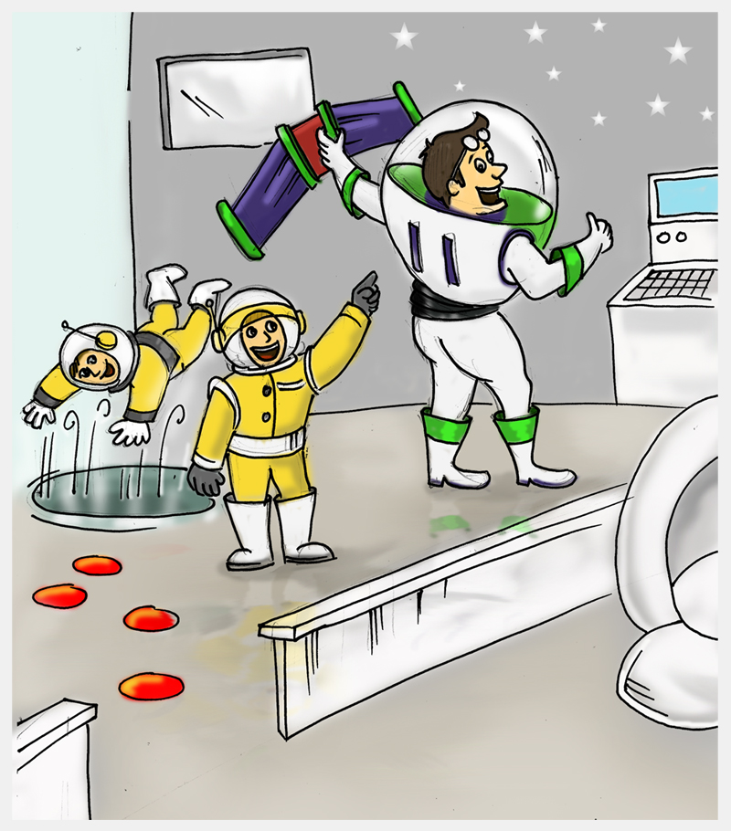 Needless clipart the space Storynory in Space Christmas Space