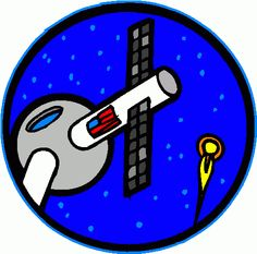 Needless clipart the space Art space_station_2 clipart centered Art
