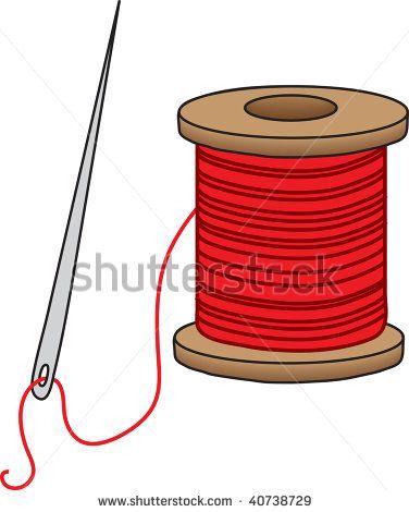 Needless clipart thread spool On art needle search to