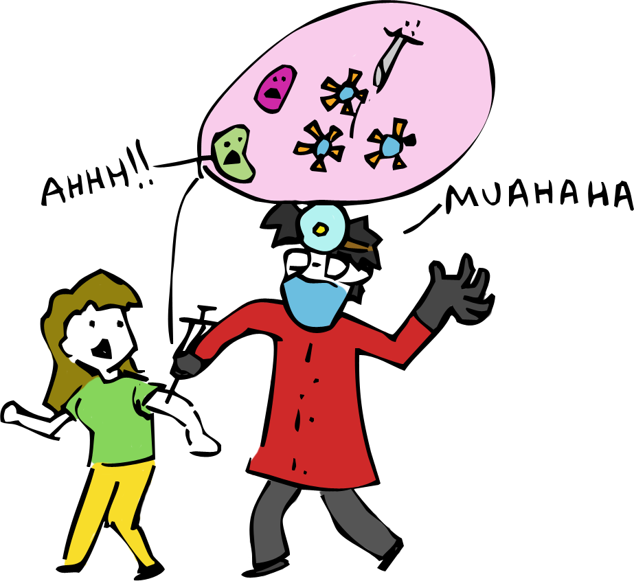 Needless clipart vaccine Actually of Immunity: viruses prevent