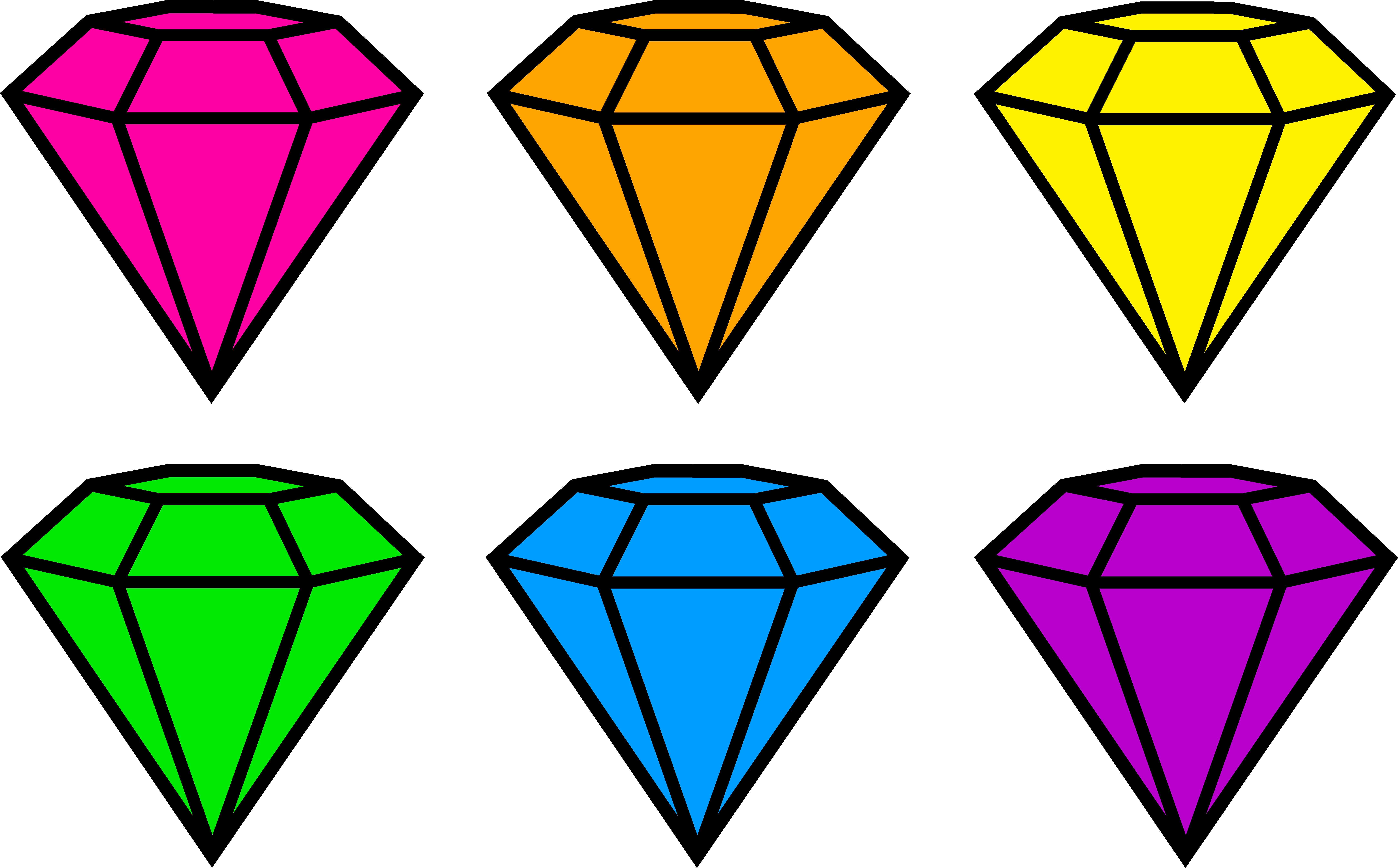 Gems clipart Free Clipart Neon Clipart Images