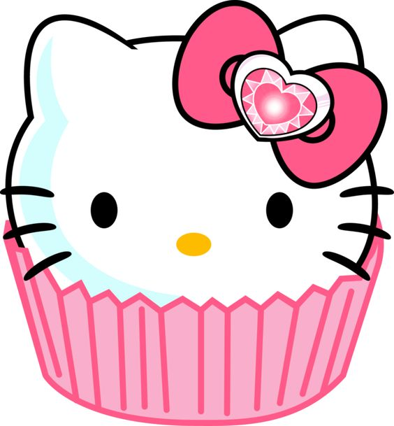 Neon clipart cupcake Kitty Hello Cliparts neon Neon