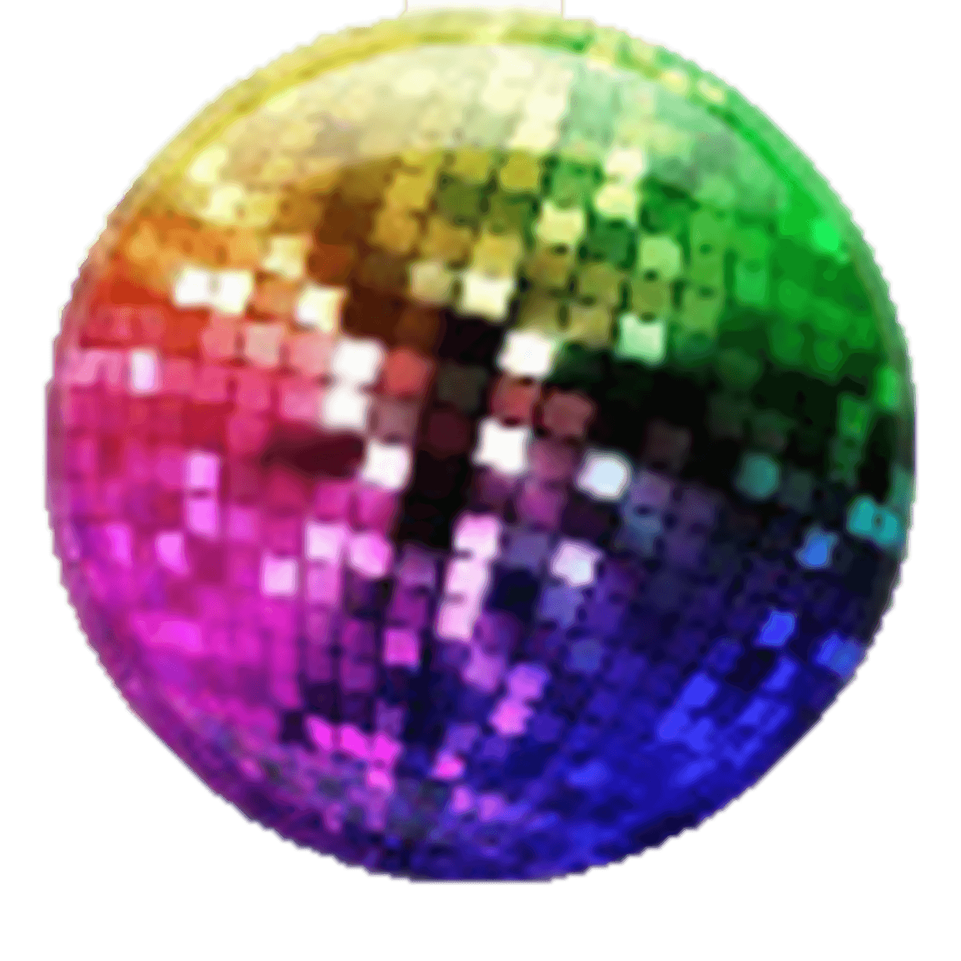Disco clipart just dance Ball Rainbow Disco Ball –
