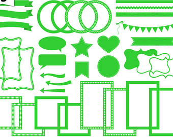 Neon clipart lime green #2