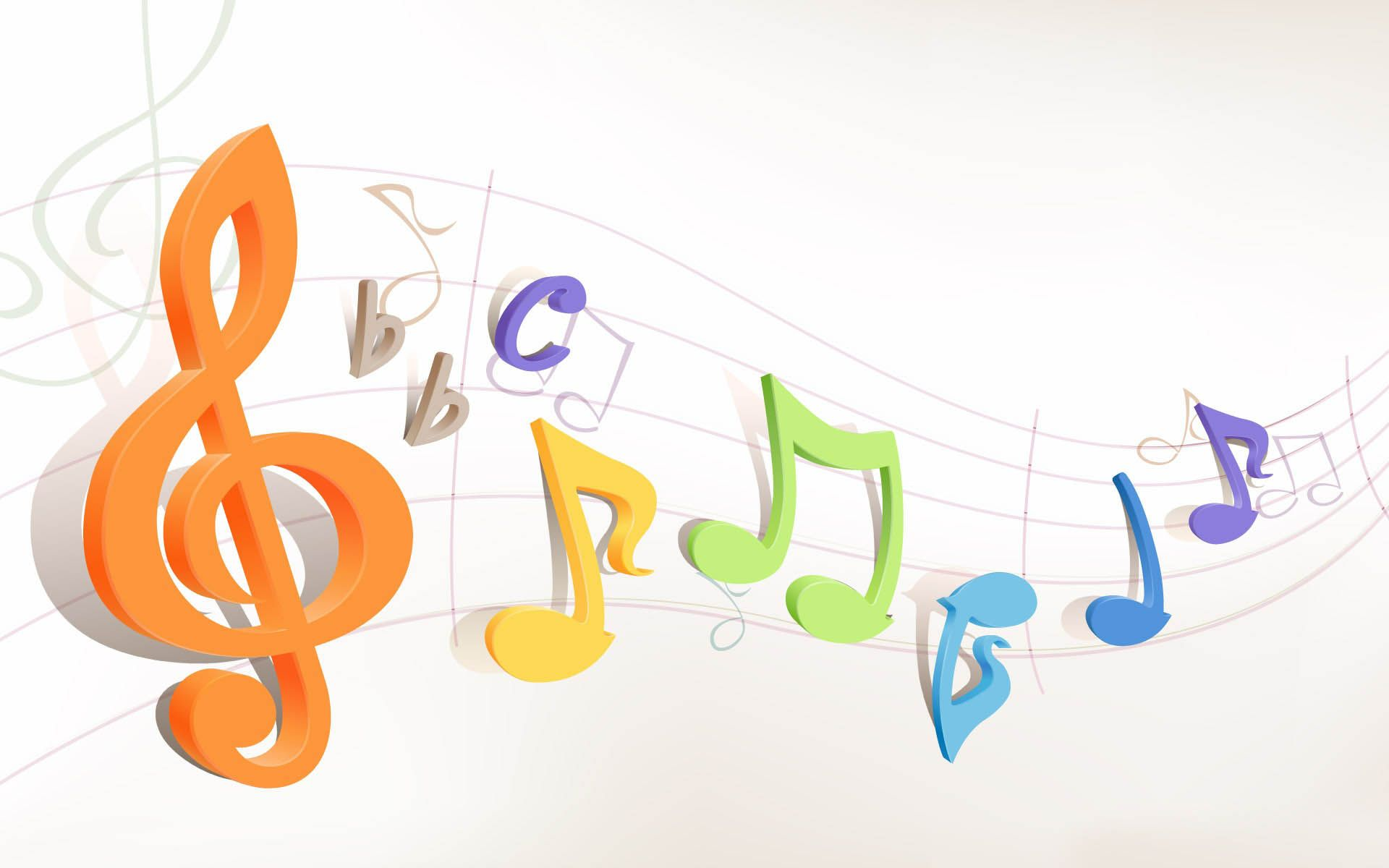 Neon clipart music note Colorful Music wallpaper Neon